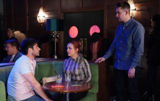 EsatEnders Whitney Dean talks to Callum and Leo