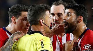 Diego Costa referee