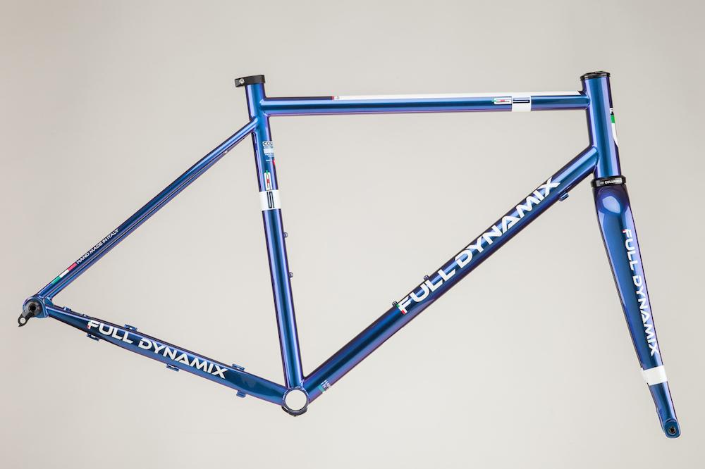 New Italian-made Full Dynamix steel gravel bike frame launched ...