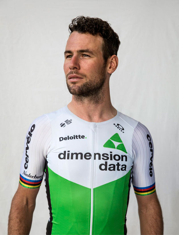 701d14926 Mark Cavendish unveils 2018 Dimension Data team kit - Cycling Weekly