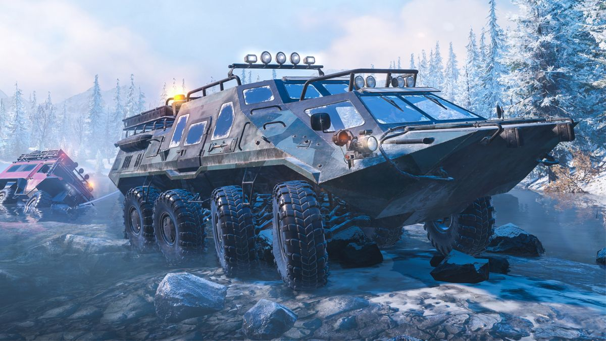 SnowRunner review   PC Gamer