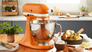 KitchenAid in Honey color