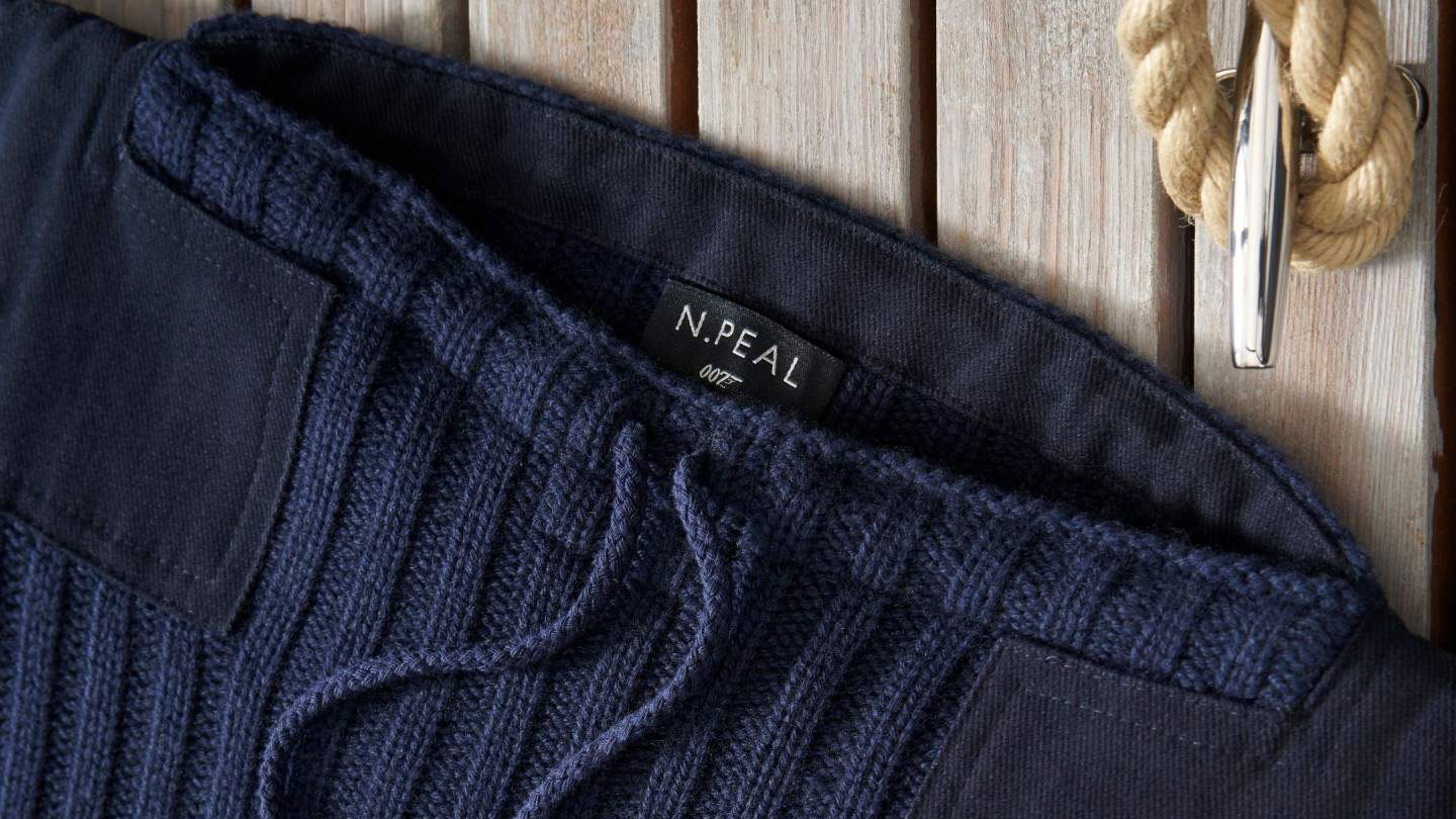 You can now buy James Bond's ultra stylish N.Peal jumper from No