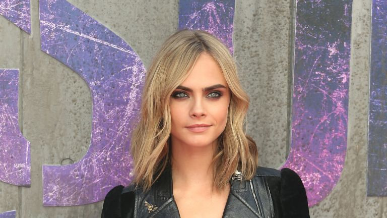 Cara Delevingne on the red carpet