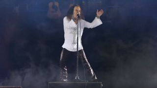 The hologram of Ronnie James Dio