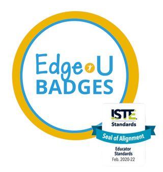 Edge•U Badges logo