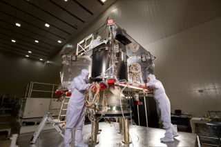OSIRIS-Rex Spacecraft Assembly