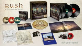The A Farewell To Kings 40th anniversary box set