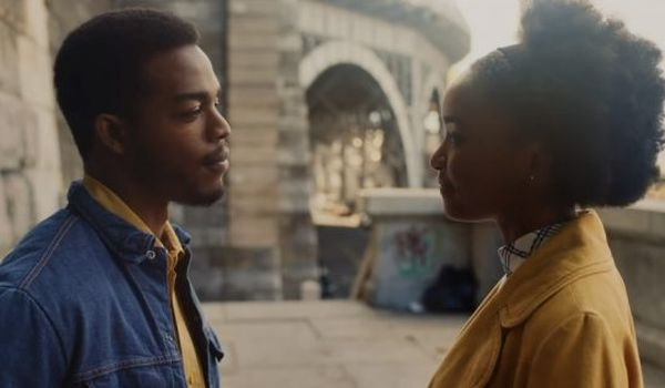 KiKi Layne and Stephen James in If Beale Street Could Talk