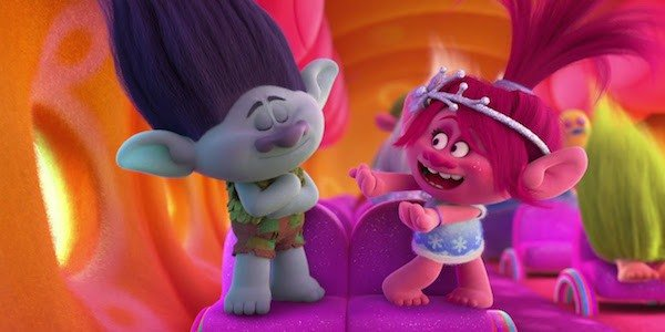 Branch and Poppy Trolls Dreamworks Animation