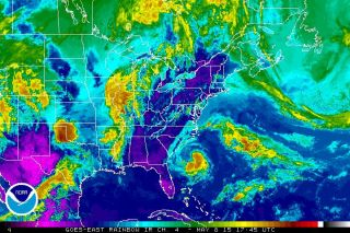 Subtropical Storm Ana