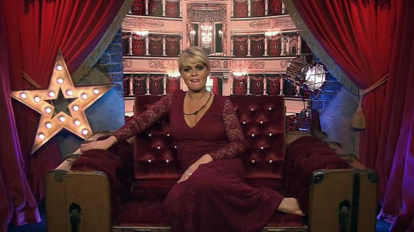 Danniella Westbrook in the diary room