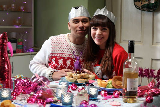 EastEnders' Poppy and Fatboy hope for happy ending
