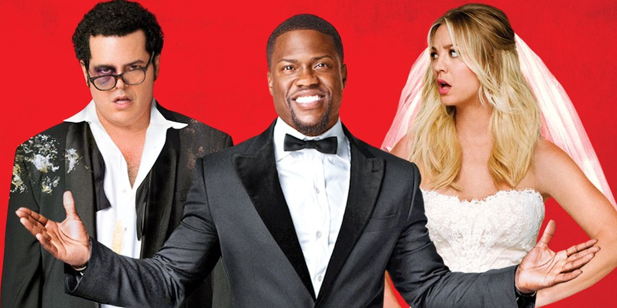 The Wedding Singer Josh Gad, Kevin Hart, and Kaley Cuoco ready for a wedding