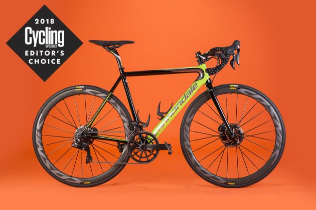 Cannondale SuperSix Evo Hi-Mod Disc Team review - Cycling Weekly 517042745