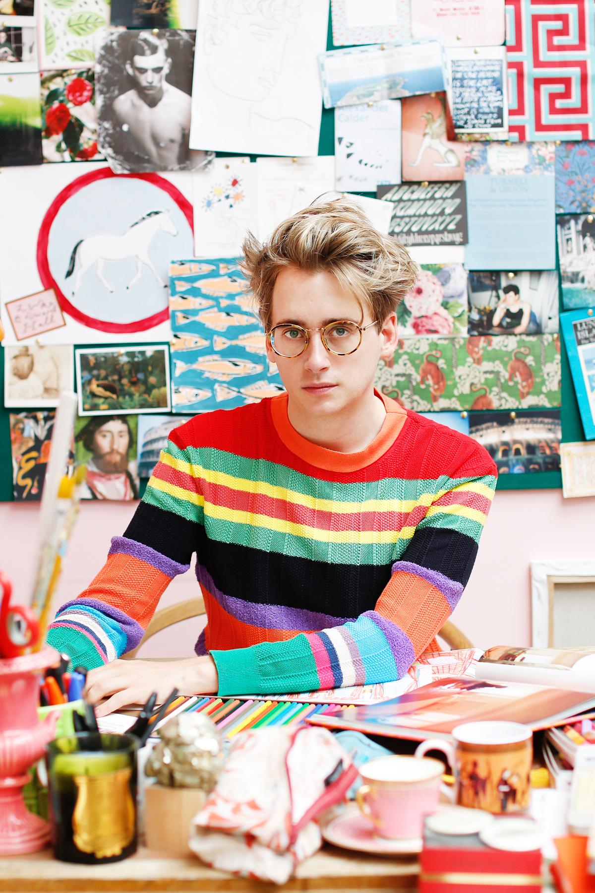 Luke Edward Hall on the joys of maximalism