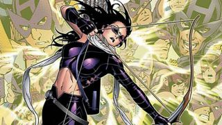 The Young Avenger / West Coast Avenger is making her MCU debut with Hawkeye