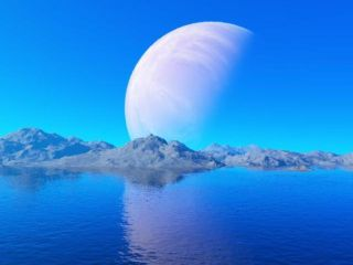 exomoon, exoplanet, search for life