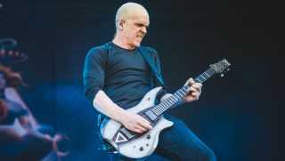 Devin Townsend performing live at the Hellfest Festival 2017 in Clisson, near Nantes