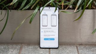 galaxy s20 plus fast refresh rate