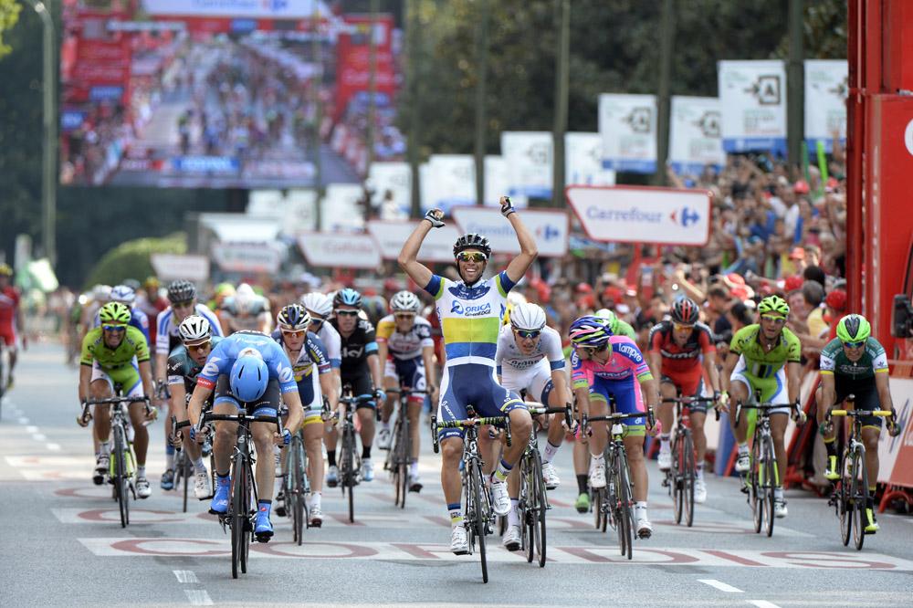 Michael Matthews wins, Vuelta a Espana 2013, stage 21 ...