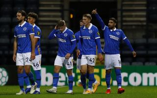 Preston North End v Brighton and Hove Albion – Carabao Cup – Third Round – Deepdale Stadium