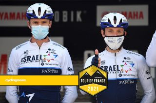 Chris Froome (left) will be supporting team leader Michael Woods (right) at the Tour de France