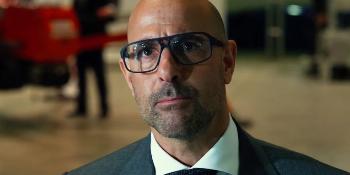 Stanley Tucci in Transformers: Age of Extinction