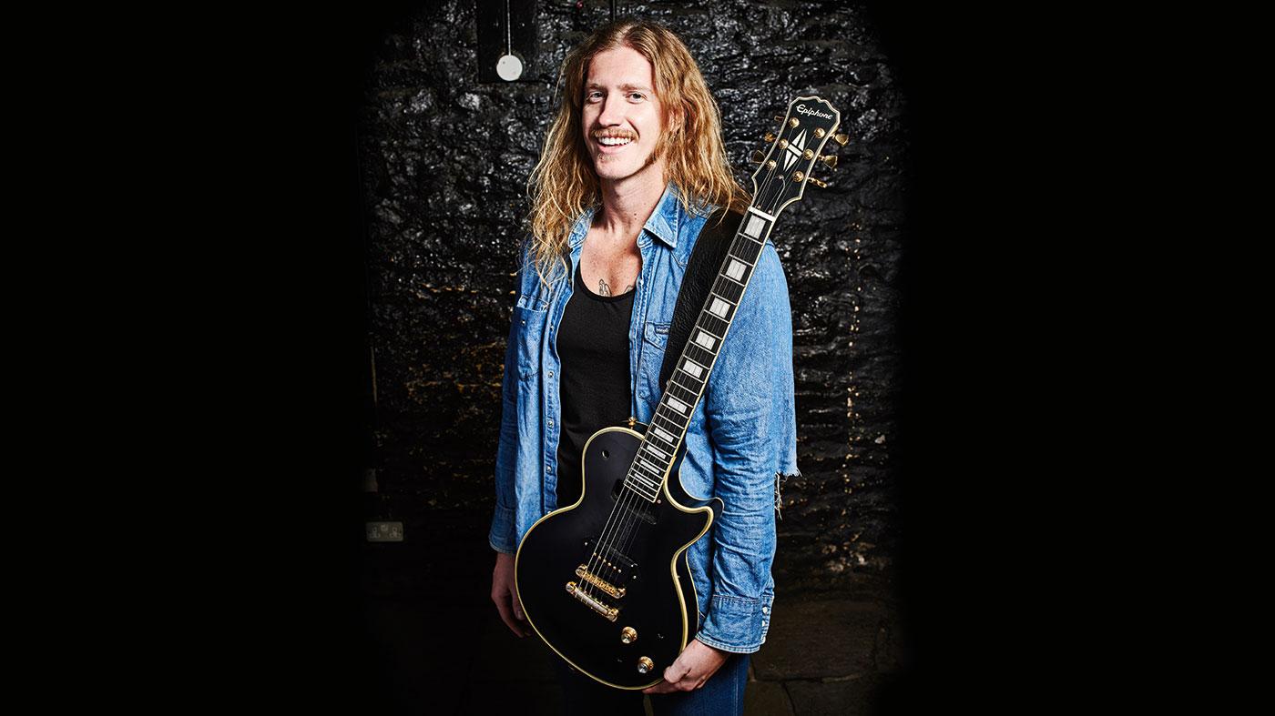 Me and my guitar: Jared James Nichols