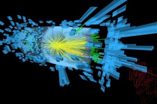 Particles From Proton Collisions