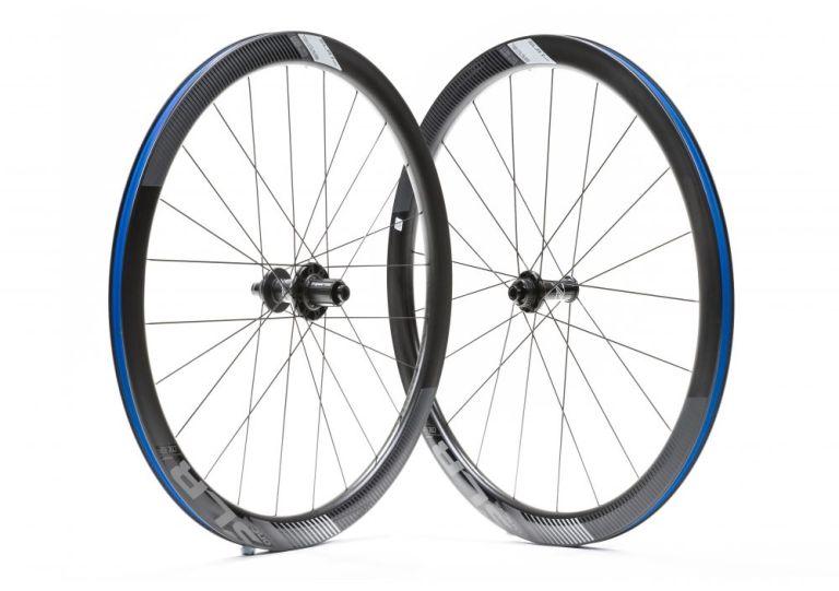 Giant SLR 1 Disc Full Carbon 42 wheels