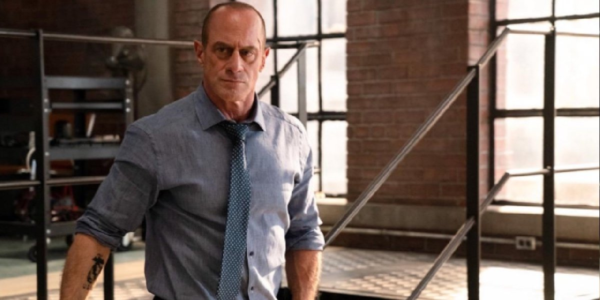 Christopher Meloni as Elliot Stabler in Law and Order: Organized Crime.