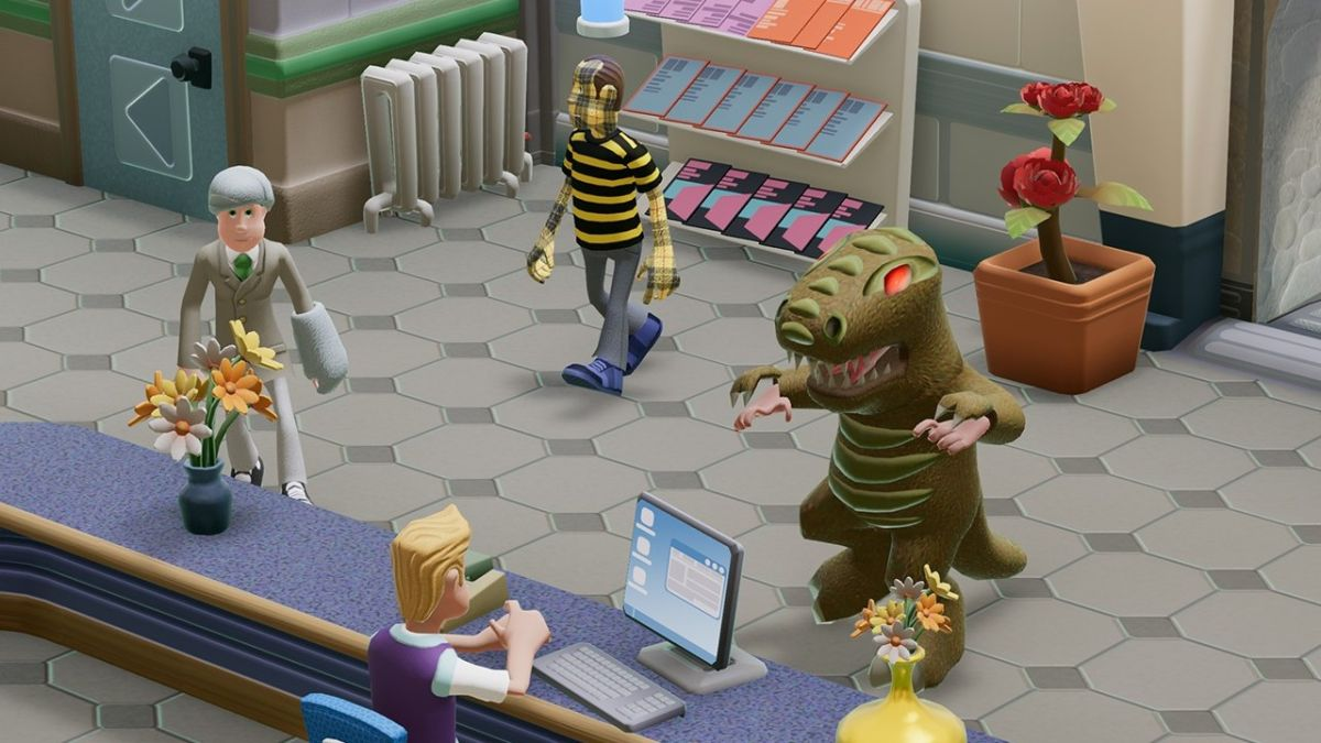 Two Point Hospital catches alien diseases with Close Encounters DLC next week