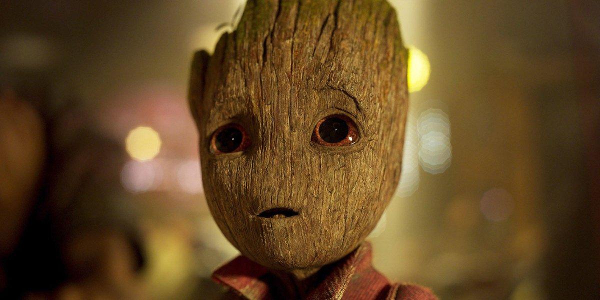 Vin Diesel as Baby Groot in Guardians of the Galaxy Vol. 2