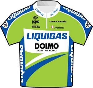Liquigas-Doimo jersey Tour de France 2010