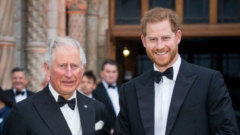 Prince Harry and Charles