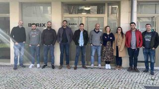 The Barix team outside the Aveiro, Portugal Innovation Center.