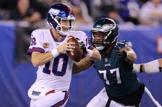 Eli Manning vs Eagles