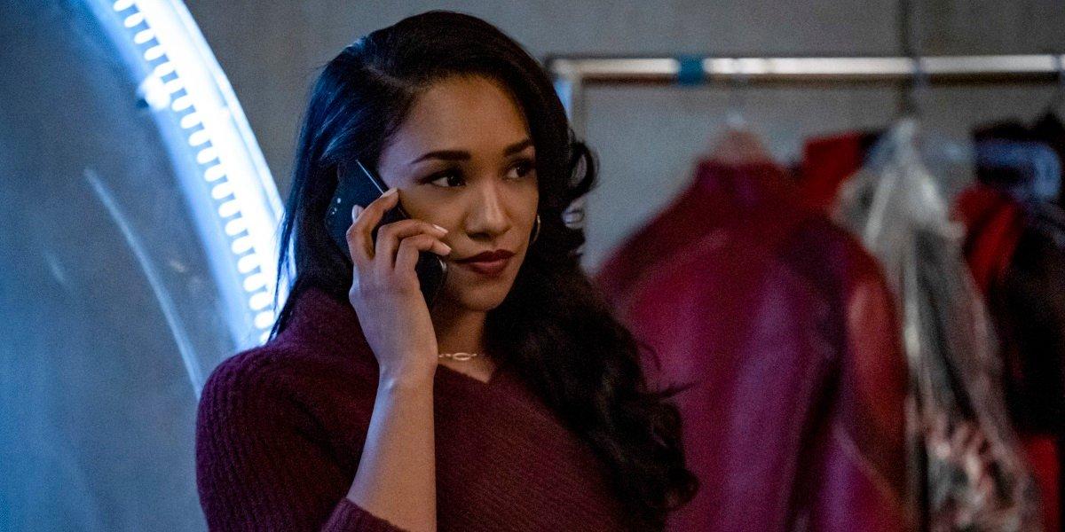 the flash season 6 mirror iris barry allen