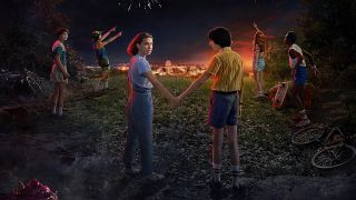 Stranger things season 3 poster art