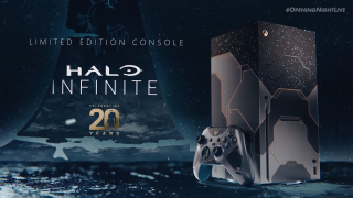 Limited Edition Xbox Series X Halo Infinite console