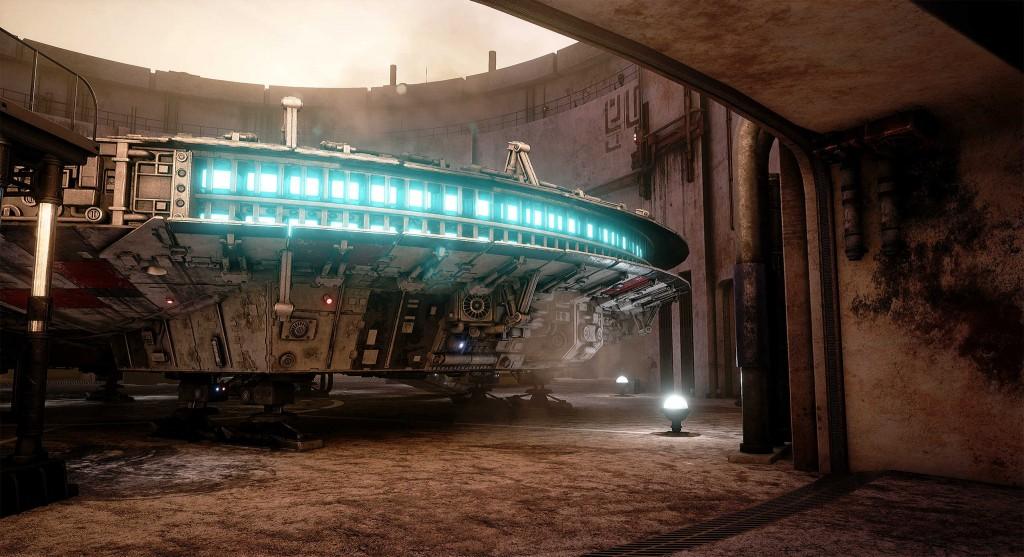 Obsidian devs recreate Star Wars Mos Eisley spaceport in
