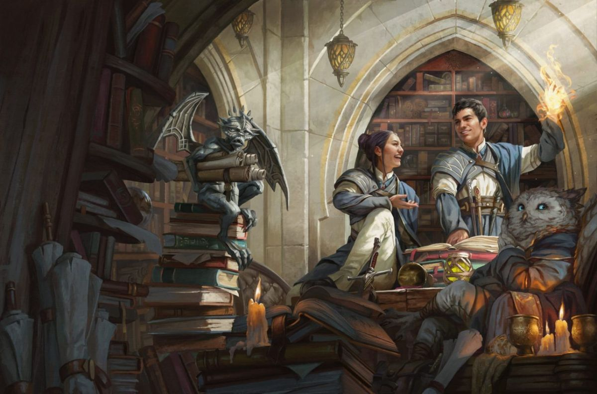 Magic: The Gathering's wizard school Strixhaven is coming to D&D