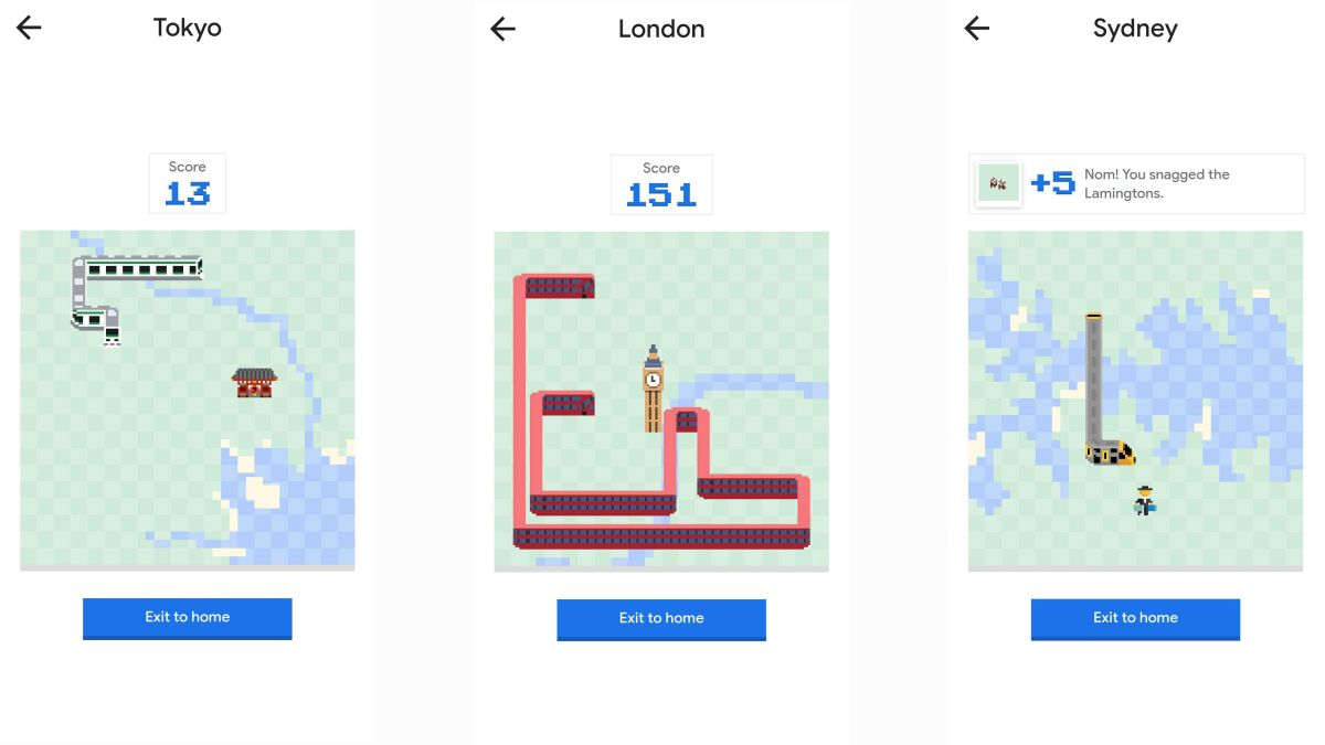 How to play Snake on Google Maps for Android, iOS and