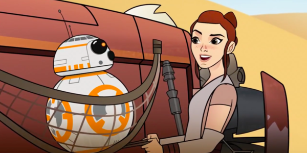 star wars forces of destiny bb-8 rey