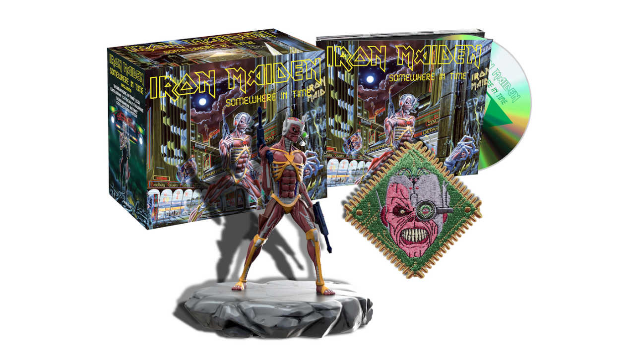 Iron Maiden continue to mine their past with latest in CD series