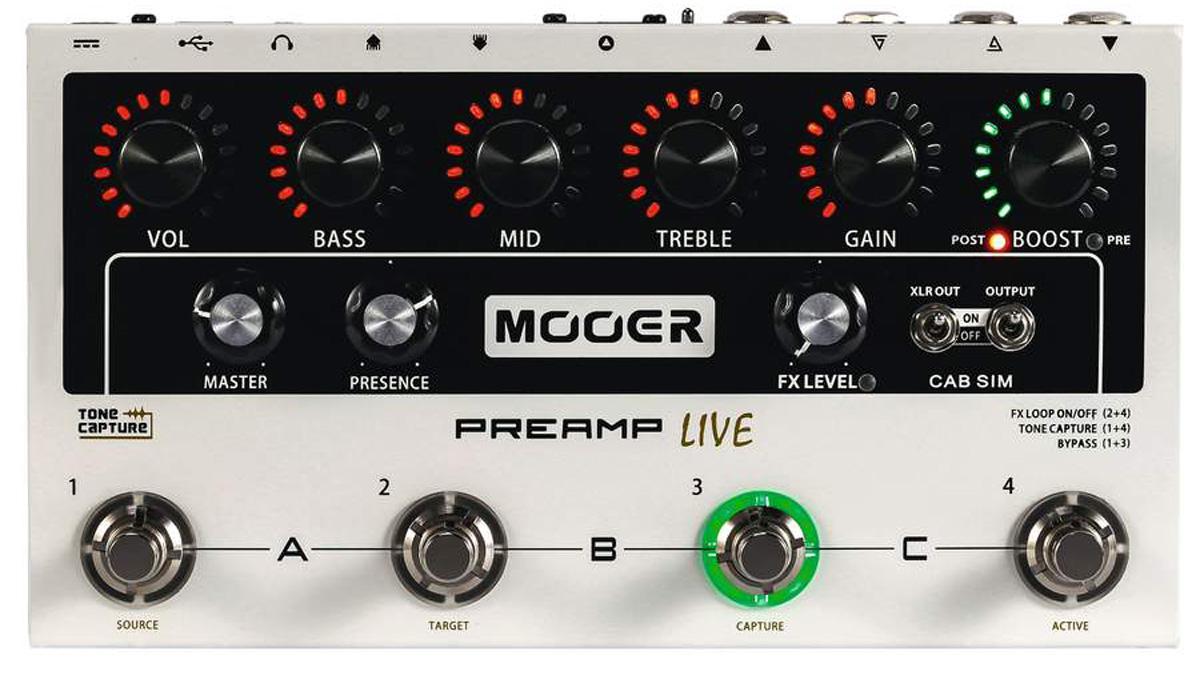 Mooer Preamp Live review | MusicRadar