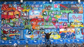 Street art: Pez