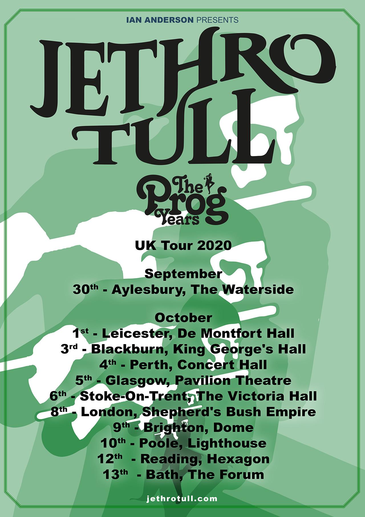 Jethro Tull: The Prog Years Tour set for 2020   Louder