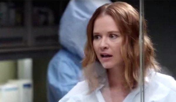 Sarah Drew as April Kepner on Grey's Anatomy